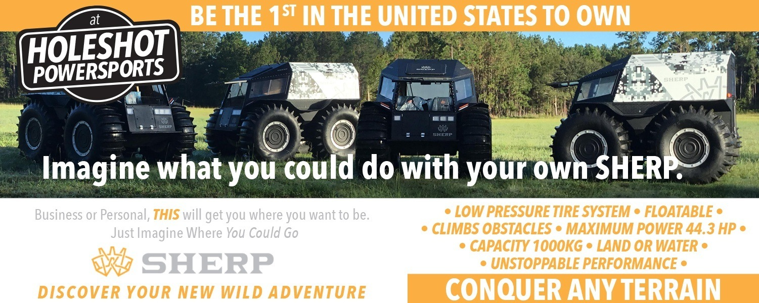 Be the 1st in the United States to own a SHERP